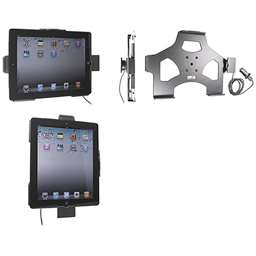 with cig-plug for Apple iPad 2//iPad New 3rd Generation Brodit 521244 Active Holder 1 Pack