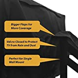 Outdoor Waterproof TV Cover 52 to 55 inches with