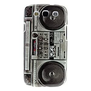 Black Recorder Hard Case+Clear Film+USB+Silver Pen For Samsung Galaxy S3 i9300