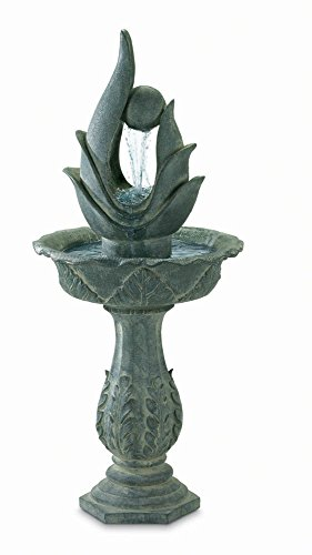 Koehler 37276 44 Inch Indoor/Outdoor Standing Designer Fountain
