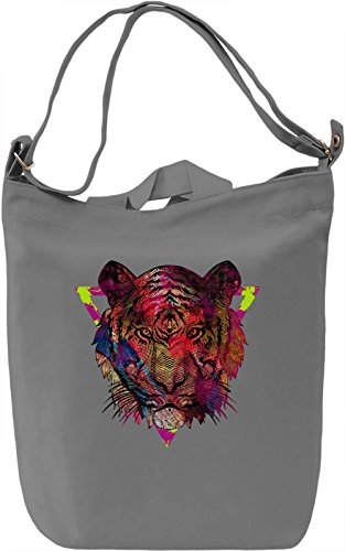 Tiger King Borsa Giornaliera Canvas Canvas Day Bag| 100% Premium Cotton Canvas| DTG Printing|