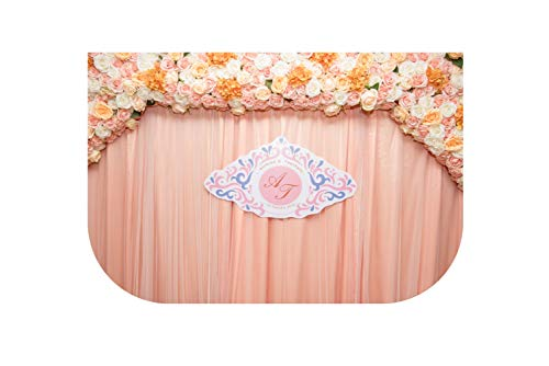 Polaris123-artificial-flowers Wedding Photo Background Bridal Bachelor Party Photography Backdrops Photon Flower Wall Fotografia,180x250cm,Pink]()