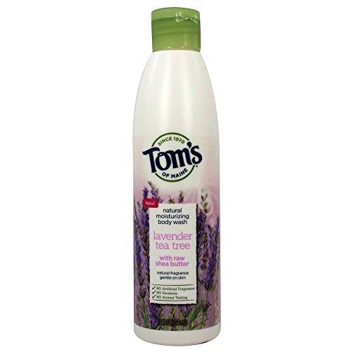 Tom's of Maine - Natural Moisturizing Body Wash Lavender Tea Tree - 12 fl. oz.