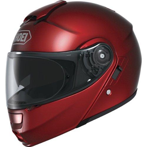 Race Helmet Small (Shoei Metallic Neotec Road Race Motorcycle Helmet - Wine Red / Small)
