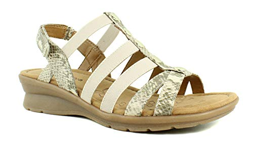 Comfortiva New Womens Beige Sandals Size 7 Extra Wide (WW)