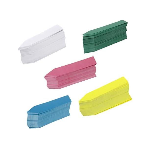 Moliies Riutilizzabili Etichette di Semi di Fiori in plastica Impermeabile per Piante Marcatori Etichette da Giardino… 4 spesavip