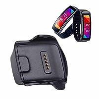 AWINNER Base de carga Cargador de escritorio para Samsung Gear Fit R350 Reloj inteligente negro (Samsung Galaxy Gear R350)