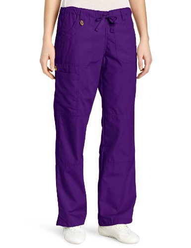 WonderWink Women's Scrubs  Cargo Pant, Grape, Large