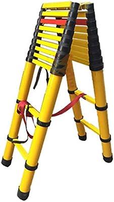 Escalera extensible Escalera telescópica Escalera telescópica de fibra de vidrio 2 M / 3 M - Escalera tipo