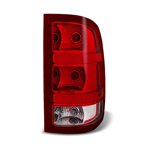 ACANII - For 2007-2013 GMC Sierra 1500 2500HD 3500HD Rear Replacement Tail Light - Passenger Side Only