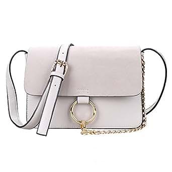 FTSUCQ Womens Flat Frosted Totes Shoulder Messenger Bags Handbags Hobos