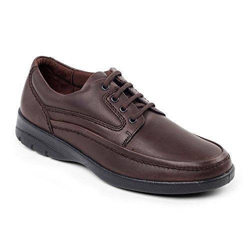 Padders - Sandalias con cuña hombre, color marrón, talla 45