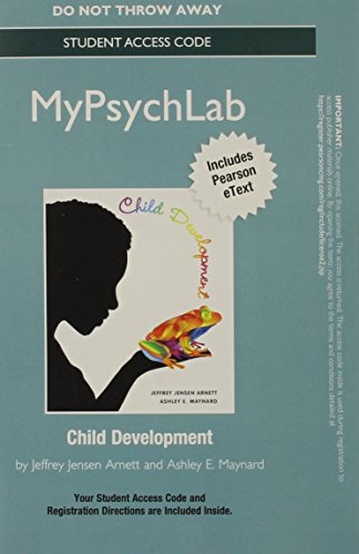 NEW MyPsychLab with eText -- Standalone Access Card -- for Child Development: A Cultural Approach (STUDENT CASE VERSION)