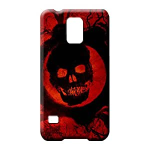 samsung galaxy s5 case cover Scratch-proof pattern mobile phone carrying covers gears of war 3