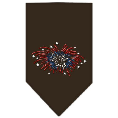 UPC 099994404086, Mirage Pet Products Fireworks Rhinestone Bandana, Small, Cocoa