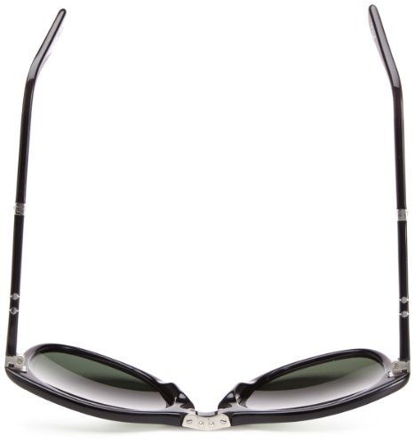 Black de Persol Mod 0714 Sol Green Grey Gafas 24 Negro 57 AO8P1qwx