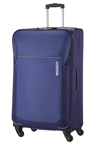 American Tourister Koffer San Francisco Spinner L 79 cm 99 Liters Blau 59236-1090