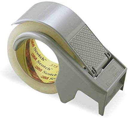 """Wholesale CASE of 5 - 3M Scotch Packaging and Sealing Tape Dispenser-Sealing Tape Dispenser, Up to 2"""" Wide, 3"""" Core"""