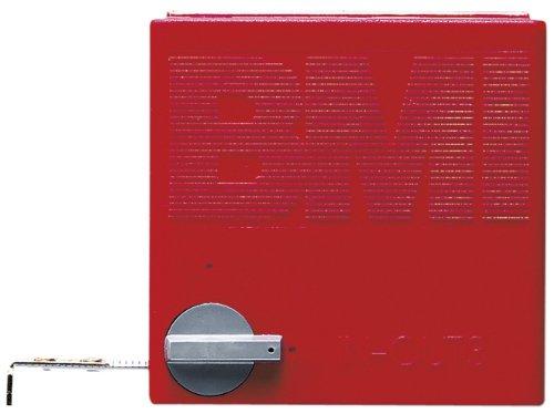BMI 408341010 Taschenbandmaß X4 mit Innenmessung und Zirkelfunktion, Länge 3 m, weisslackiertes Band