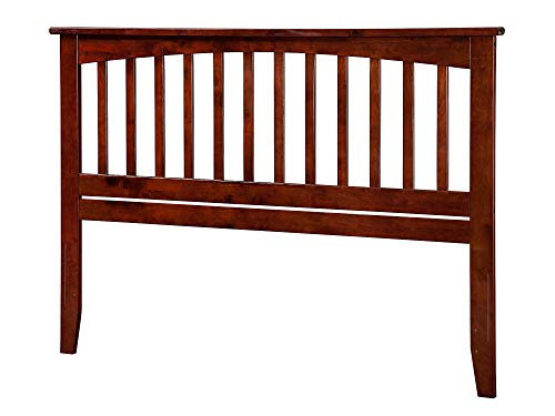 Atlantic Furniture AR287844 Mission Headboard, Queen, Walnut ()