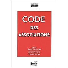 CODE DES ASSOCIATIONS : RECUEIL TEXTES LEGISLATIFS REGL. SUR ORG. SANS BUT LUCRATIF 2EME EDITION