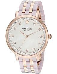 kate spade new york Womens KSW1264 Monterey Analog Display Japanese Quartz Rose Gold Watch
