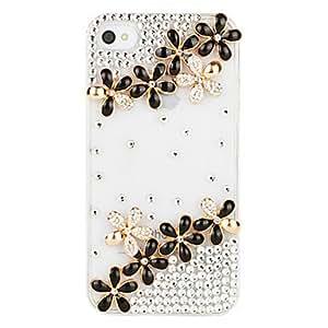 conseguir Filas dobles Lucky Case Transparent Grass para el iPhone 4/4S