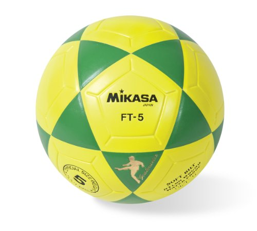 Mikasa Goal Master Soccer Ball (Green/Yellow, Size 5)