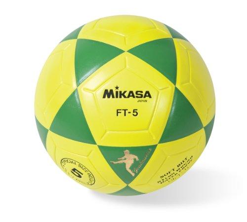 (Mikasa Goal Master Soccer Ball (Green/Yellow, Size 5))