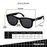 Hipsterkid Polarized Kid Sunglasses with Strap for