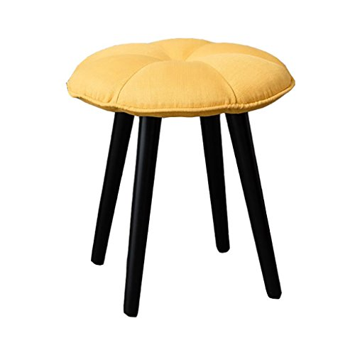 AIDELAI Stool chair Creative Pumpkin Stool Stool Home For Shoes Stool Leisure Cloth Stool Stool Makeup Stool Casual Stool (43 43cm) Saddle Seat ( Color : B ) by AIDELAI