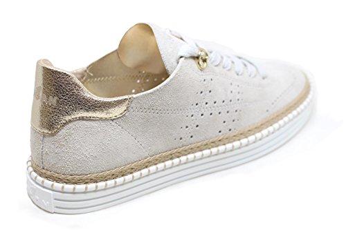 Hogan Damen HXW2600K850I0P0QBC Weiss Leder Sneakers