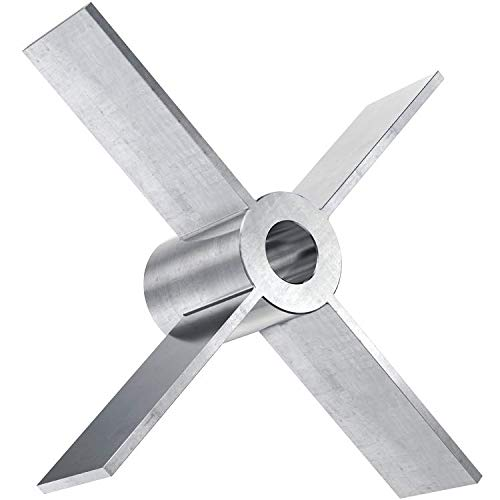 5//8 Bore Mixer Direct 9 Diameter Radial Flow Turbine
