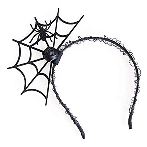 Halloween Cosplay Spider Hair Hoop-New Trendy Hallowmas Party Gift Black #1 H6L1 -