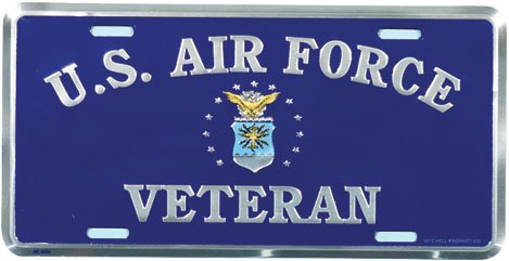US-Air-Force-Veteran-License-Plate