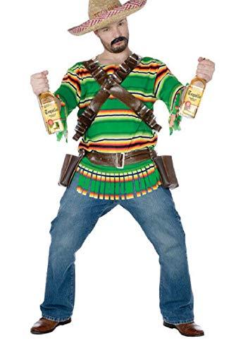 Tequila Dude Halloween Costume (Fiesta Tequila Pop 'N' Dude Adult Halloween)