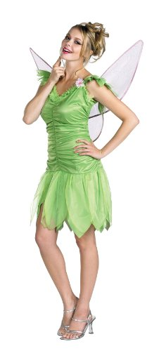 Tinker Bell Rainbow Deluxe Costume - Large - Dress Size -