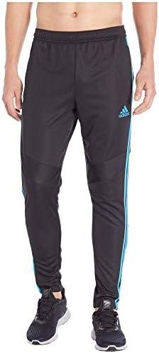 メンズ ボトムス・パンツ Tiro '19 Pants Black/Shock Cyan サイズXL-29 [並行輸入品]