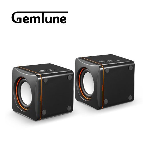 AL-202, High-fidelity USB Acoustics System, Powered by USB, for Laptops and Desktops, Cube Speakers, Gemini Doctor by Gemini Doctor (Image #3)