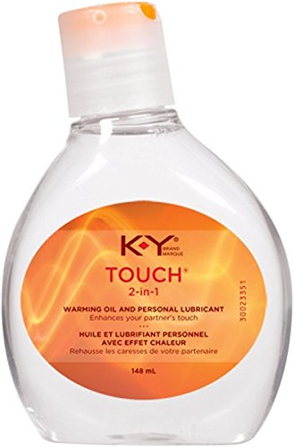 K-Y Brand, Touch 2-in-1 Warming Oil and Personal Lubrican...