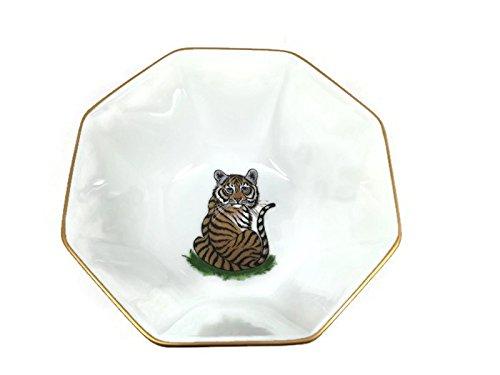 Lynn Chase Designs - Tiger Raj - Octagonal Bowl - Small (Lynn Chase Designs)