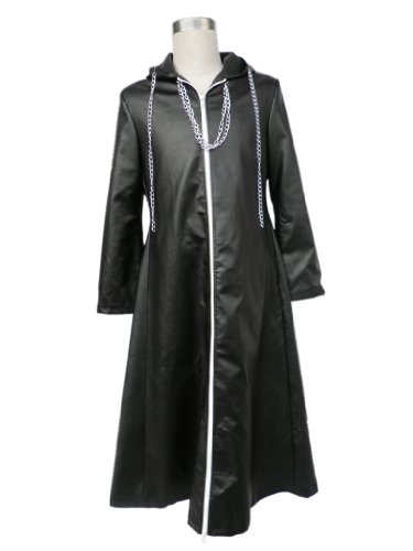 Mtxc Men's Kingdom Hearts Cosplay Costume Organization XIII Outfit 2nd Size XXX-Large Black