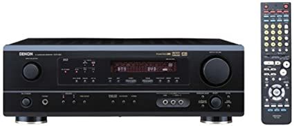 Denon AVR-484 Dolby Digital, Dolby Pro Logic II and DTS A/V