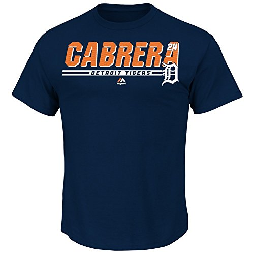 Men's Miguel Cabrera Detroit Tigers Jersey Tee Scoring Machine T-Shirt (XX-Large)