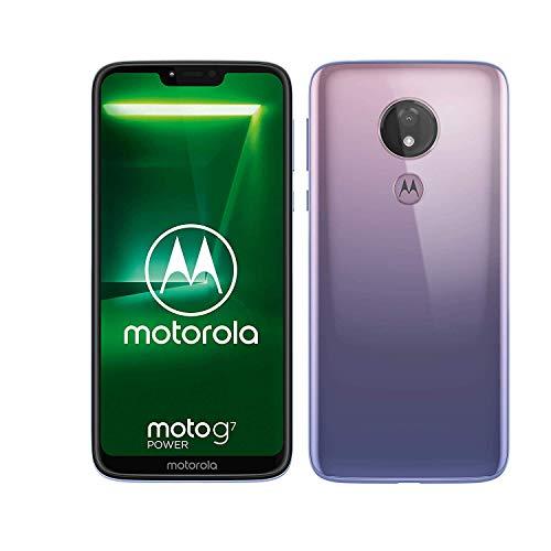 Motorola Moto G7 Power XT1955-2 64GB+4GB RAM LTE Factory Unlocked GSM 5000mAh Battery Smartphone (International Version) (Violet)