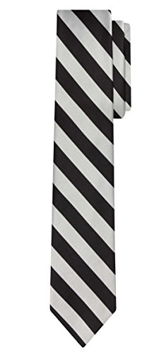 Jacob Alexander Stripe Woven Men's Slim 2.75