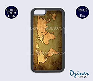 iPhone 6 Plus Case - Vintage World Map iPhone Cover