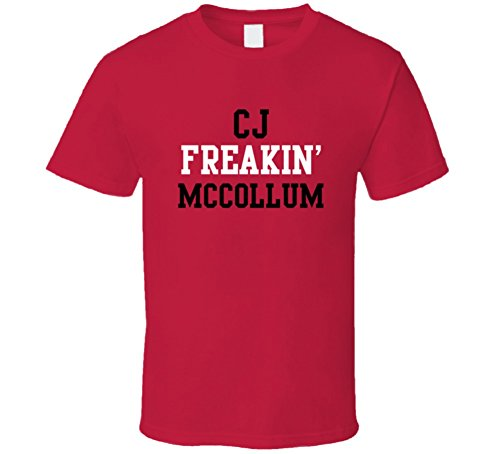 CJ McCollum Freakin Favorite Portland Basketball Player Fan T Shirt M Red