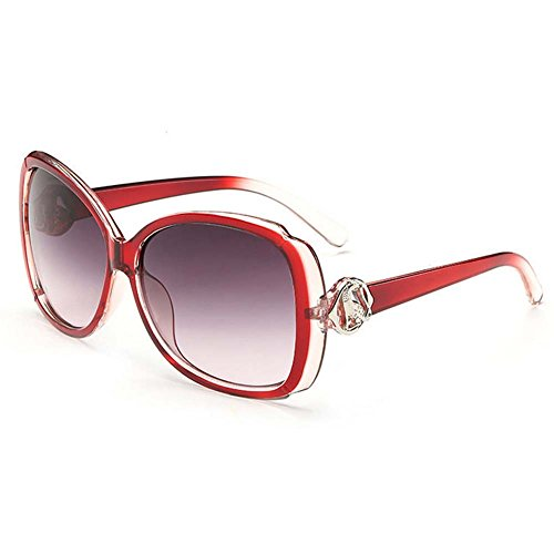 My.Monkey New Europe and America Fashion Womens Big Frame Small Face Wayfarer - Cheapest On Sunglasses The Internet