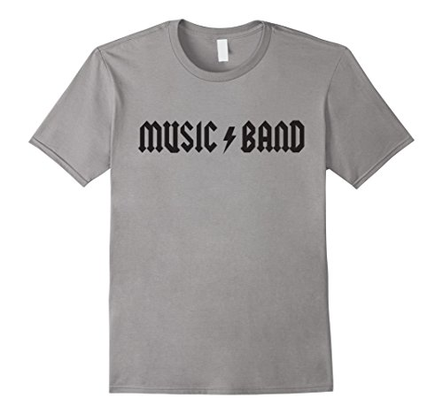 Mens Music Band T-Shirt | How Do You Do Fellow Kids Shirt Large Slate
